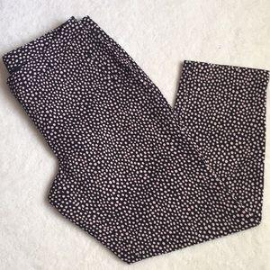 Talbots polka dot dress pants